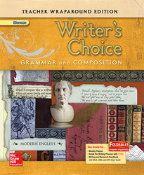 Writer's Choice, Grade 10, Teacher Wraparound Edition