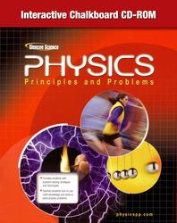 Glencoe Physics: Principles & Problems, Interactive Chalkboard CD-ROM