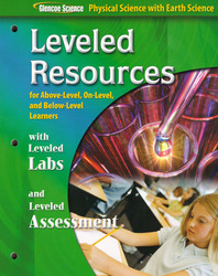 Glencoe Physical iScience with Earth iScience, Grade 8, Leveled Resources