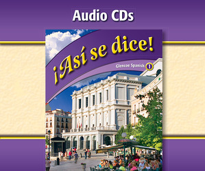 ¡Así se dice! Level 1, Audio CDs