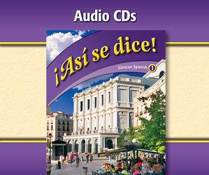 ¡Así se dice! Level 1, Audio CDs
