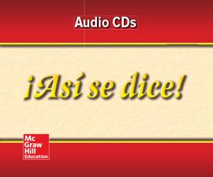 ¡Así se dice! Level 2, Audio Program