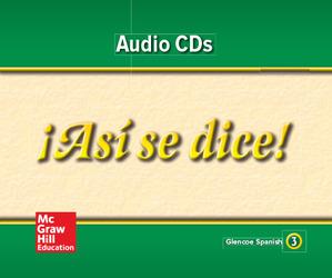 ¡Así se dice! Level 3, Audio Program
