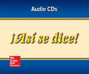 ¡Así se dice! Level 4, Audio Program