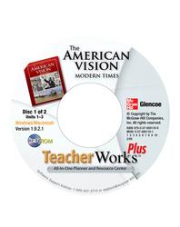 The American Vision: Modern Times, TeacherWorks Plus CD-ROM