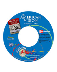 The American Vision: Modern Times, Presentation Plus! with MindJogger Checkpoint CD-ROM (Win)