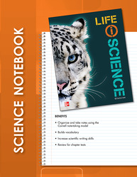 Glencoe Life iScience, Grade 7, Science Notebook, Student Edition