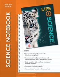 Life iScience, Science Notebook, Teacher Edition