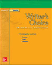 Writer's Choice, Grade 10, StudentWorks Plus CD-ROM