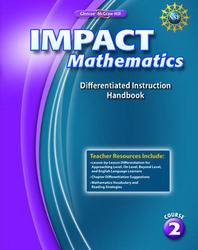 IMPACT Mathematics, Course 2, Differentiation Handbook