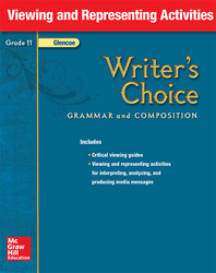 Writer's Choice, Grade 11, Viewing and Representing Activities