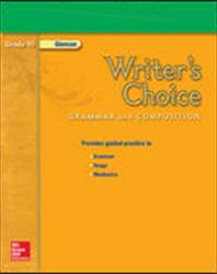 Writer's Choice, Grade 10, Presentation Plus! CD-ROM