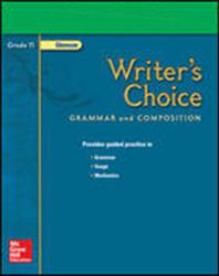 Writer's Choice, Grade 11, Presentation Plus! CD-ROM