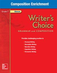 Writer's Choice, Grade 7, Composition Enrichment