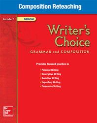 Writer's Choice, Grade 7, Composition Reteaching