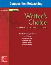 Writer's Choice, Grade 12, Composition Reteaching