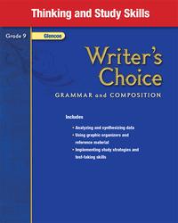 Writer's Choice, Grade 9, Thinking and Study Skills