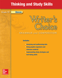 Writer's Choice, Grade 10, Thinking and Study Skills