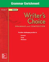 Writer's Choice, Grade 7, Grammar Enrichment