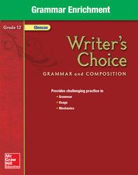 Writer's Choice, Grade 12, Grammar Enrichment