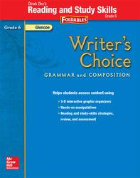 Writer's Choice, Grade 6, Dinah Zike's Foldables