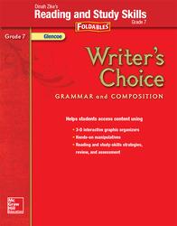 Writer's Choice, Grade 7, Dinah Zike's Foldables