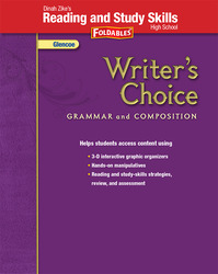 Writer's Choice, Grades 9-12, Dinah Zike's Foldables