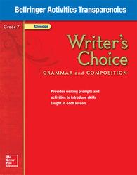 Writer's Choice, Grade 7, Bellringer Activities Transparencies