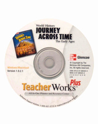 Journey Across Time, Early Ages, TeacherWorks Plus CD-ROM