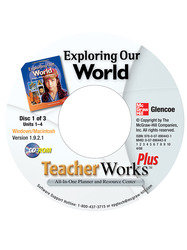 Exploring Our World, TeacherWorks Plus CD-ROM