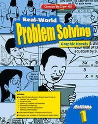 Real-World Problem Solving Graphic Novels, Algebra 1