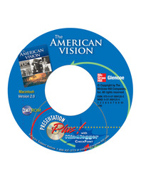 The American Vision, Presentation Plus! with MindJogger Checkpoint CD-ROM (Mac)