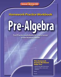 Pre-Algebra, Homework Practice Workbook