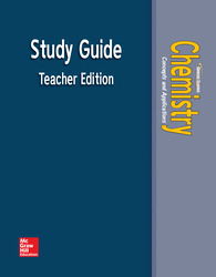 Chemistry: Concepts & Applications, Study Guide, Teacher Edition