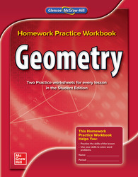 Geometry, Homework Practice Workbook