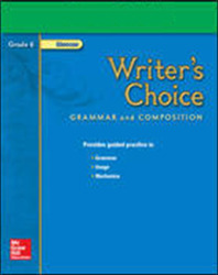 Writer's Choice, Grade 6, Teacher Classroom Resources package