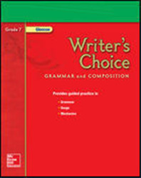 Writer's Choice, Grade 7, Teacher Classroom Resources