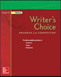 Writer's Choice, Grade 12, Teacher Classroom Resources