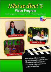 ¡Así se dice! Level 3, Vocabulary & Culture Video