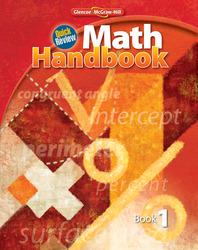 Quick Review Math Handbook, Book 1, Student Edition