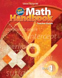 Quick Review Math Handbook, Book 1, Teacher Guide