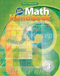 Quick Review Math Handbook, Book 3, Teacher Guide