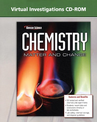 Chemistry: Matter & Change, Virtual Investigations CD-ROM