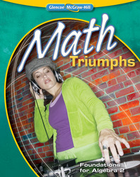 Math Triumphs--Foundations for Algebra 2