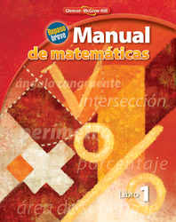 Quick Review Math Handbook, Book 1, Spanish Student Edition