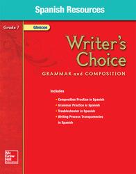 Writer's Choice, Grade 7, Spanish Resources