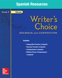 Writer's Choice, Grade 9, Spanish Resources