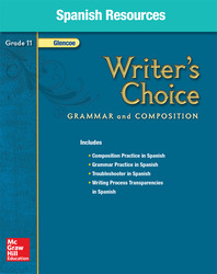 Writer's Choice, Grade 11, Spanish Resources