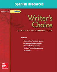 Writer's Choice, Grade 12, Spanish Resources