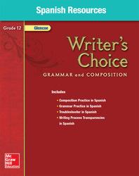 Writer's Choice, Grade 12, Spanish Resources